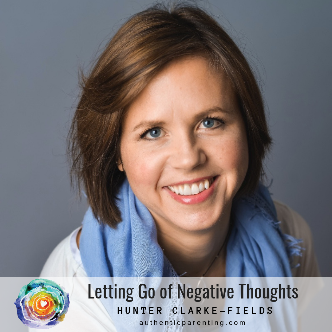 Letting Go of Negative Thoughts